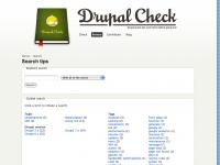 Partager vos tips sur Drupal-check.org