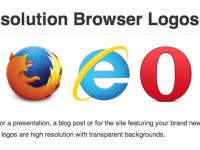 Logos des navigateurs en PNG 32 bit haute définition