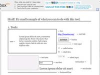 Frame box: prototypage rapide via son navigateur