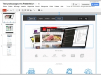 Prototypage rapide : marvelapp.com VS Pop VS Google Apps
