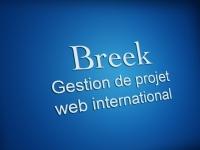 Accompagnement méthodologique gestion de projet web international