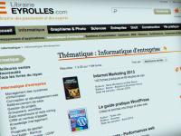 Spécifications fonctionnelles de la librairie en ligne Eyrolles