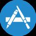Logo de Xcode, iOS, Cocoa