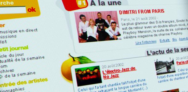 Refonte de www.rfimusique.com