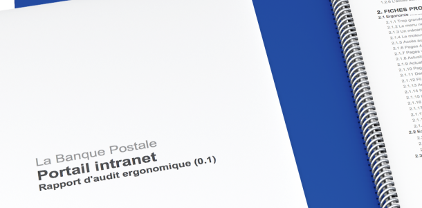 Audit éditorial, ergonomique, accessibilité de l'intranet de la Banque postale