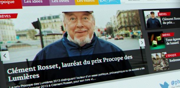 Refonte du site web de Philosophie Magazine