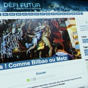 Défi futur le blog de Pascal Delannoy, Radio France (Drupal)