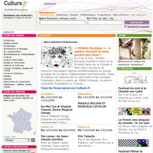 Optimisation du portail culture.fr : tests utilisateurs, analyse statistique, recommandations, étude d'impact et de faisabilité...