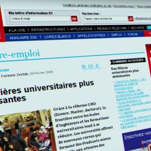 Assistance à maîtrise d'ouvrage pour la création de 01informatique.fr