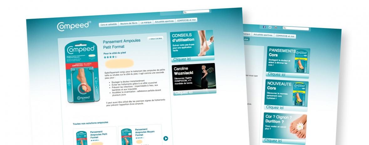 Intégration Drupal et responsive design pour compeed.fr