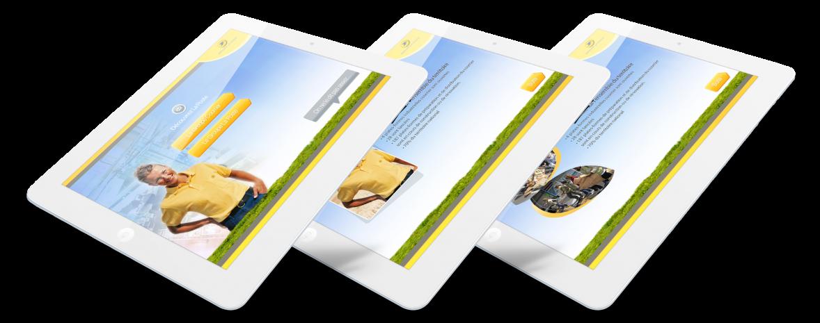 Presentation interactive en html5 pour tablette, ipad, borne et plus