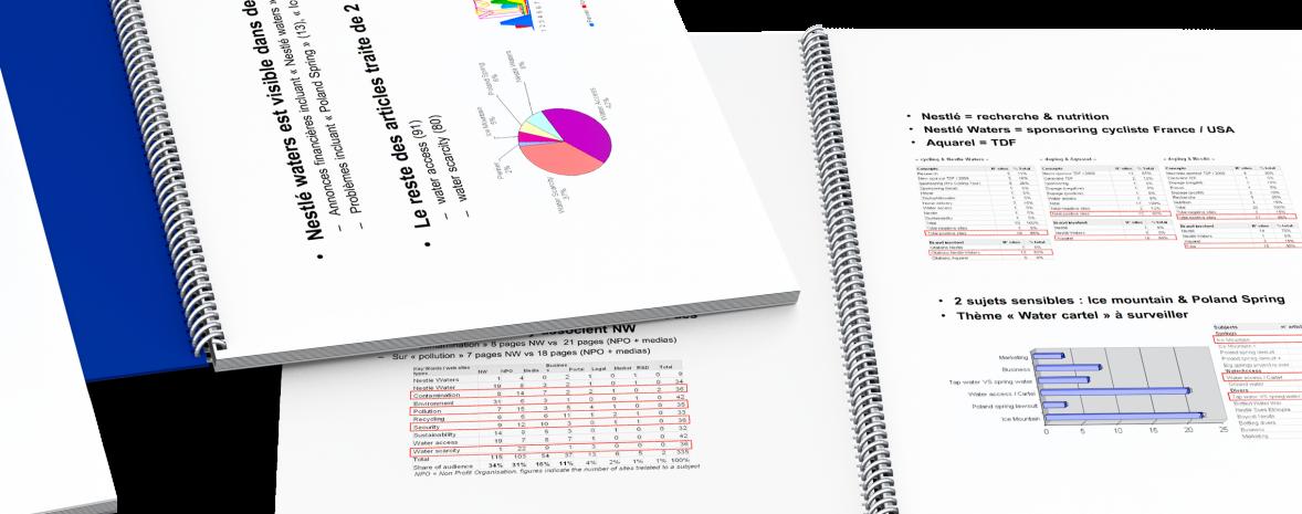 Automatisation de la veille stratégique, de benchmarks et de l'étude d'impact sur l'image institutionelle