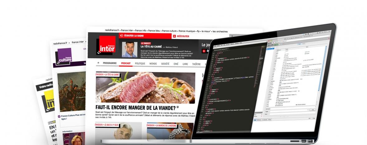 Radio France : plateforme web générique basée sur Drupal