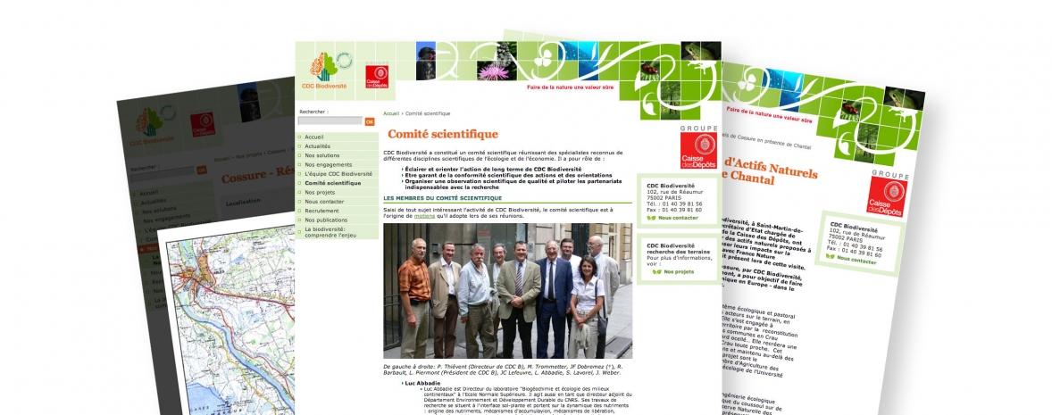 Assistance à maîtrise d'ouvrage pour la création de cdc-biodiversite.fr