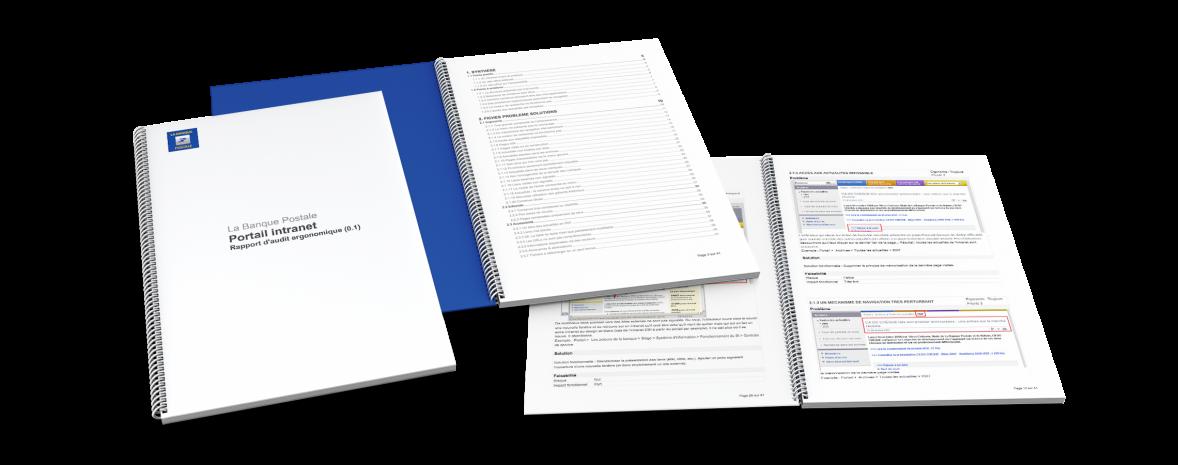 Audit éditorial, ergonomique, accessibilité de l'intranet de la Banque postale