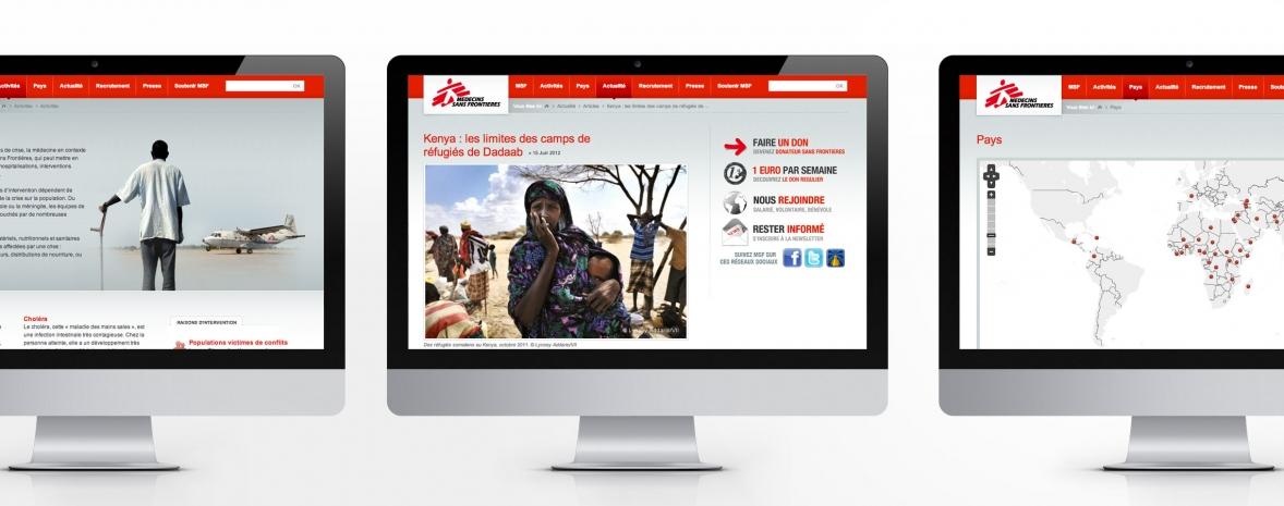 Refonte du site web de l'ONG Médecins Sans Frontières (Drupal, Solr)