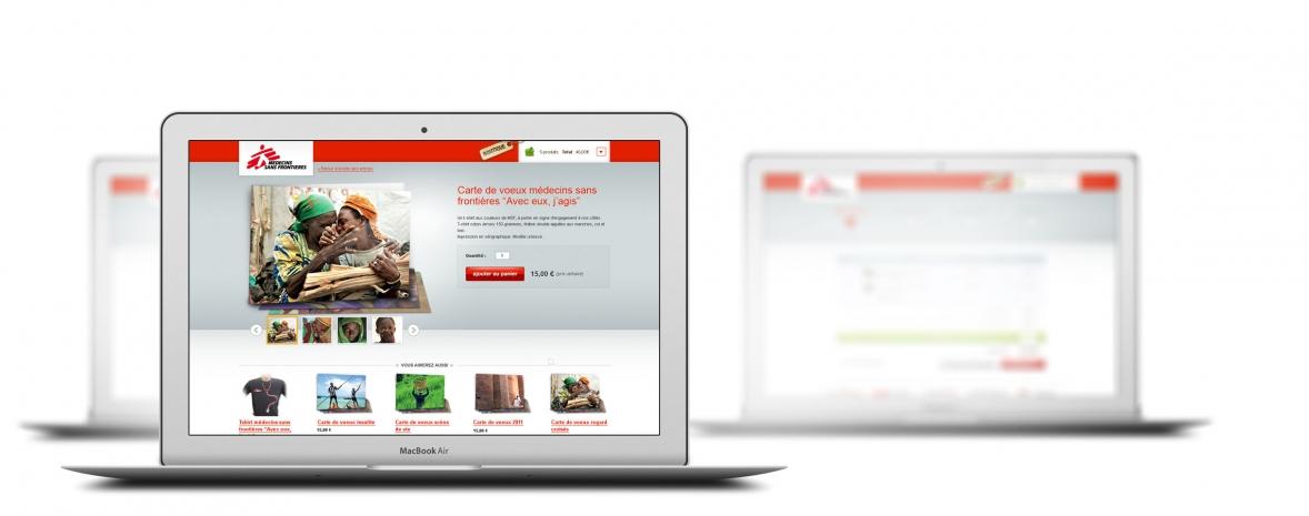 Drupal + Übercart = la nouvelle boutique de Médecins Sans Frontières