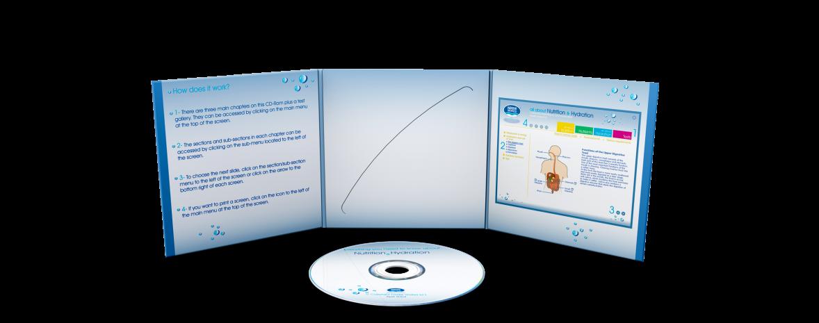 Conception, design et production d'un CD de e-learning à vocation internationale