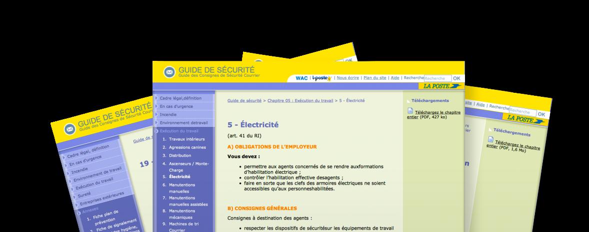 Site accessible (ADAE), développé en XHTML & CSS