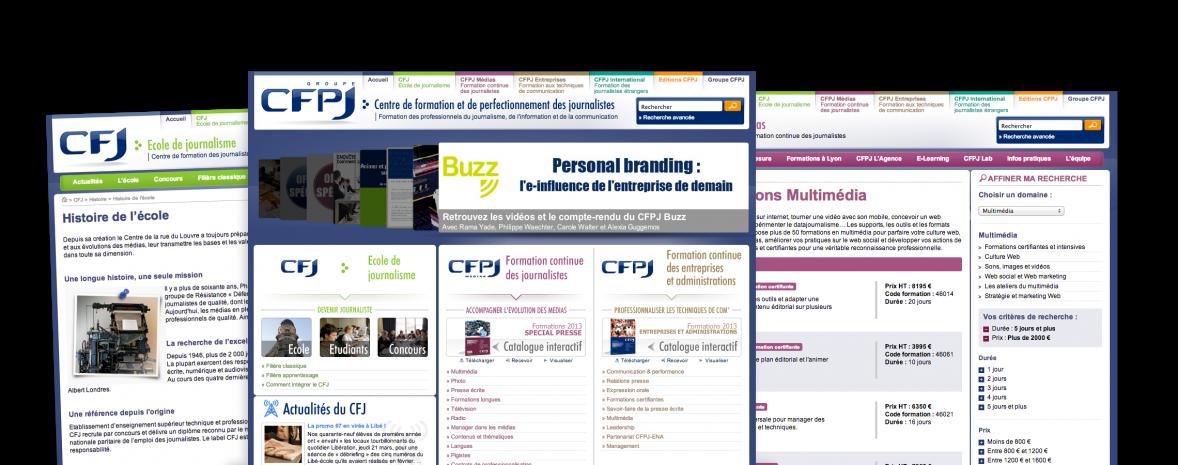 Drupal + Breek = refonte orientée web 2.0, commentaires, notation... participation des internautes à la vie du site
