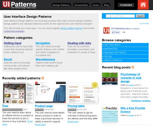 3 collections de design patterns