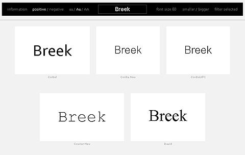 Prévisualiser ses fonts avec wordmark.it